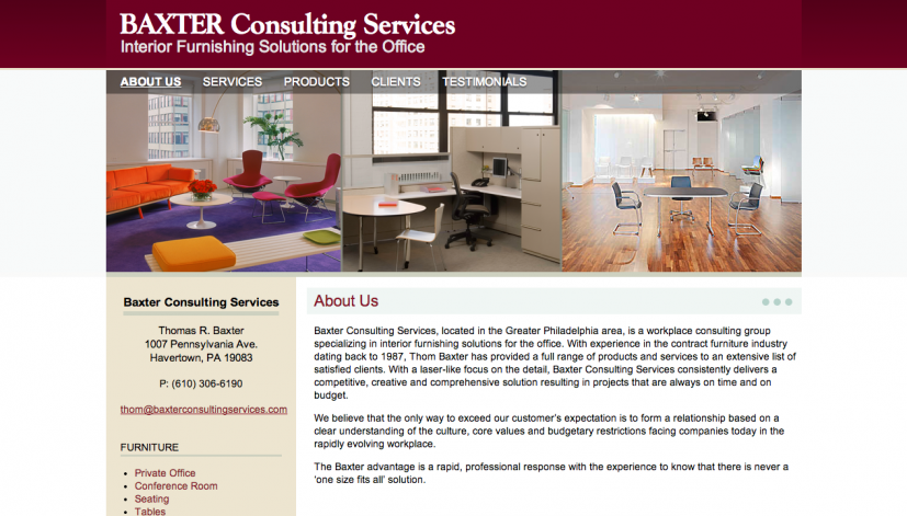 Baxter Consulting Services